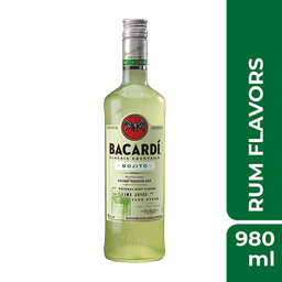 Bacardi Rum Mojito Garrafa