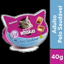 Petisco Whiskas Temptations Pelo Saudável Gatos Adultos 40g