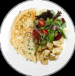Omelete de Espinafre