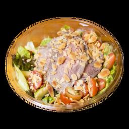Salada de rosbife orgânico