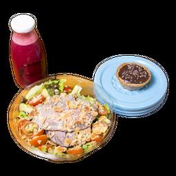Combo Rappi: Salada + Suco Detox + Sobremesa