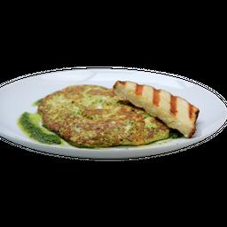 Omelete Caprese + Suco