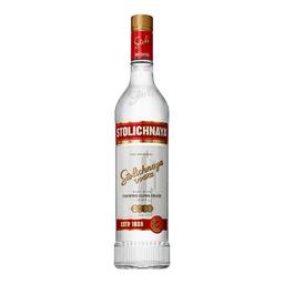 Vodka Stolichnaya Letonia 750 mL.