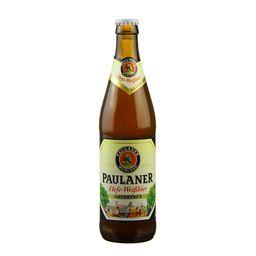 Cerveja Paulaner Hefe Weissbier Naturtrub 500 mL