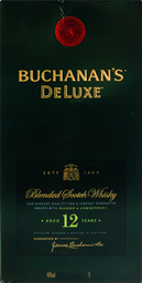 Whisky Buchanan's Luxe 12 anos 1 L