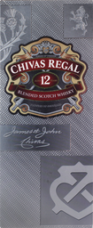 Whiskys Chivas Regal 12 Anos 1000 mL