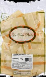 Ravioli Queij Brie/Amendoas La Vera Pasta 500 g