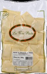 Ravioli Mussarela Bufala/Manjerição La Vera Pasta 500 g