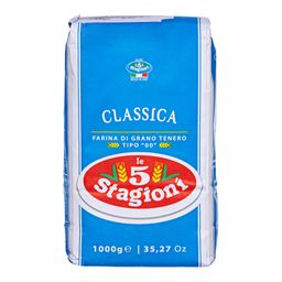 Farinha De Trigo 00 Le 5 Stagioni Classica 1 kg