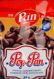 Pipoca Pop Pan Coberta Com Chocolate 80 g