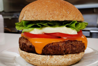 Cheddar Monsterburger Salada