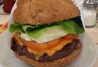 Cheese Monsterburger Salada