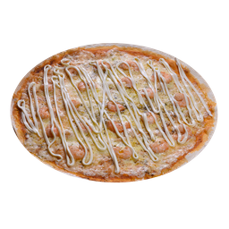 Pizza de Camarões Saltadores