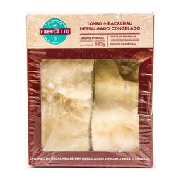 Lombo De Bacalhau Morhua Dessal Congelado Frescatto 680 g