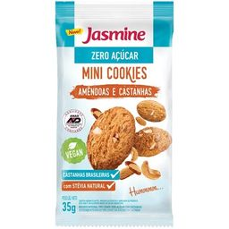 Cookies Amendoas E Castanhas Zero Jasmine 35 g