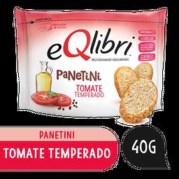 Snack Tomate Temperado Eqlibri Panetini Pacote 40g