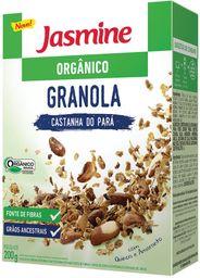 Granola Orgânica Castanha Do Para Jasmine 200 g