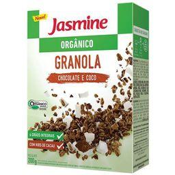 Granola Orgânica Chocolate E Coco Jasmine 200 g