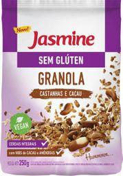 Granola Sem Glúten Castanhas Jasmine 250 g