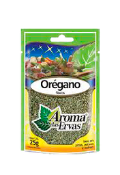 Orégano Flocos Aroma Das Ervas 25 g