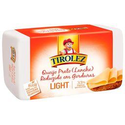 Queijo Tirolez Prato Light Lanche