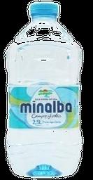 Água Mineral Minalba 2,5 L