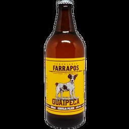 Cerveja Farrapos Guaipeca Pilsen 600 mL