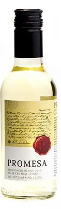 Vinho Promesa Branco Chileno Sauvignon Blanc 187 mL