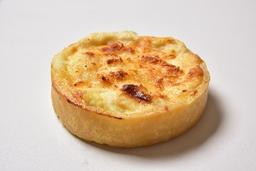 Quiche de queijo com palmito