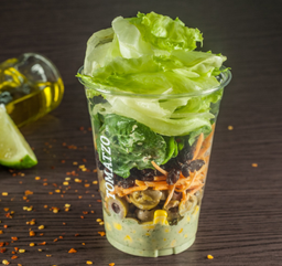 Salada de Pote - Frango