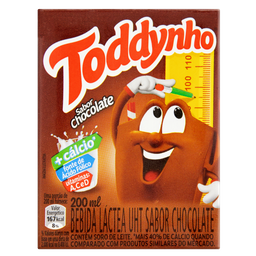 Bebida Láctea Toddynho Sabor Chocolate 200 mL