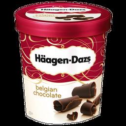Sorvete Haagen Dazs Sabor Chocolate 473 mL