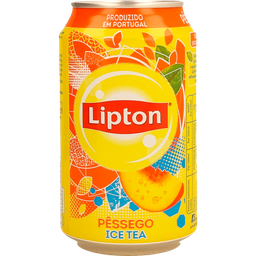 Chá Lipton Pêssego Zero - 340ml