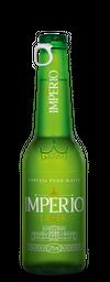 Cerveja Império Lager Long Neck 275 mL.