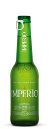Cerveja Império Lager Long Neck 275 mL