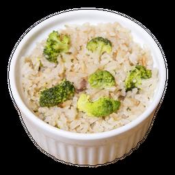 Arroz Integral com Brócolis