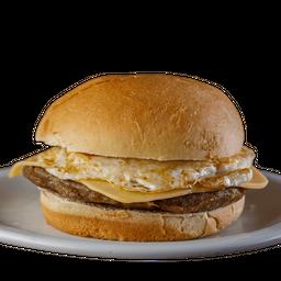Egg Cheese Burguer