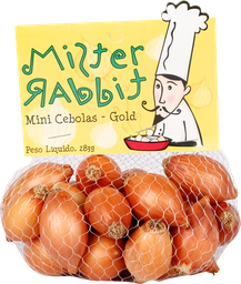 Cebola Mini Gold Mr.rabbit 283 g