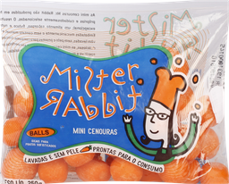 Cenoura Baby Balls Mr.rabbit 250 g