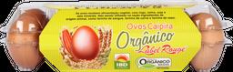 Ovos Label Rouge Orgânico Caipira Com 10 U