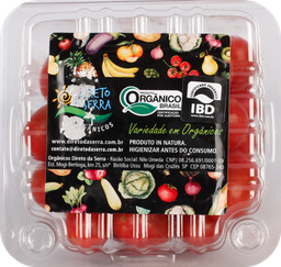 Tomate Sweet Grape Orgânico Direto Da Serra 180 g