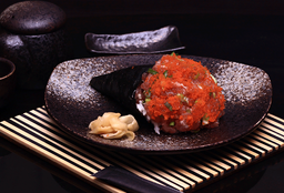 Temaki Spicy Tuna Pequeno Sem Arroz