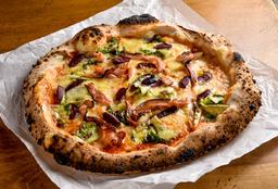 Pizza Verde e Nero
