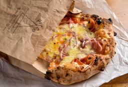 Pinsa Salsiccia e Mozzarella