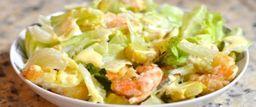 Salada De Camarão Com Batatas