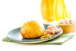 Pão de Grãos com Peru