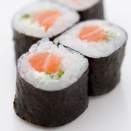 Hossomaki Salmon Com Cream Cheese e Pepino - 8 Unidades