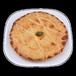 Torta De Frango - Unidade Com 500 g (Peso Minimo)- Cód. 11334