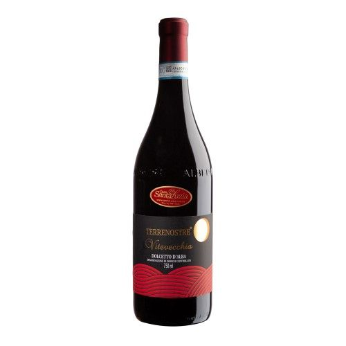 Vinho Dolcetto D´Alba Terrenost.Vitiv 750 mL