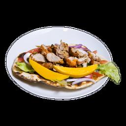 Chicken Naan Wrap